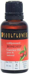 Soulflower Rosehip Oil 100% Pure and Natural