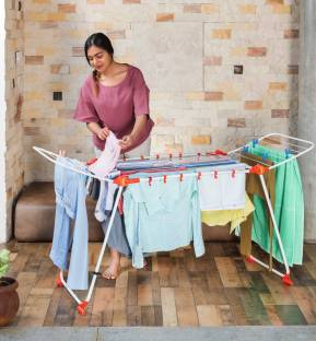 Bathla Steel Floor Cloth Dryer Stand Mobidry Axis Cloth Dryer ( MDC )