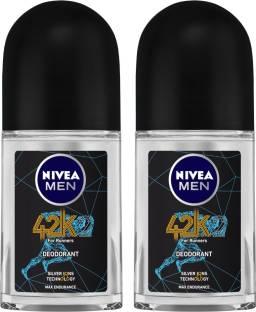 NIVEA Men 42k Deodorant Roll-on  -  For Men