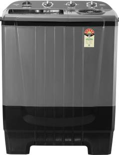 ONIDA 8 kg 5 star and In-built Basket Semi Automatic Top Load Grey