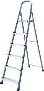 TNC 6 STEP ALUMINIUM LADDER Aluminium Ladder