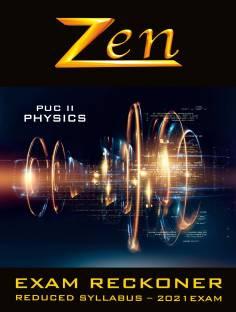 Zen Karnataka PUC 2 Physics Exam Reckoner 2021