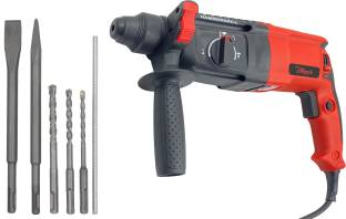 Hillgrove H26H7 3 Modes Multi-Purpose Household Electric Rotary Hammer Drilling Machine Industrial Gra...