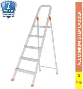 ALNICO 5 Step With 7 Year Warranty Aluminium Ladder