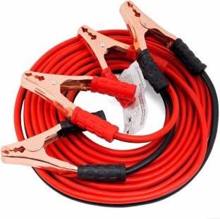 STARVIN CAR 500 AMP// HEAVY DUTY // JUMPER BOOSTER CABLES //ANTI TANGLE COPPER CARE// FOR UNIVERSAL// 7 ft Battery Jumper Cable