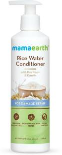 """MamaEarth """"Rice Water Conditioner with Rice Water & Keratin for Damaged, Dry and Frizzy Hair"""