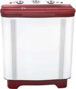 White Westinghouse (Trademark by Electrolux) 6.5 kg Semi Automatic Top Load White, Maroon