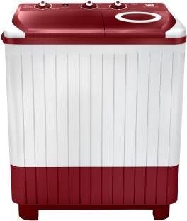 White Westinghouse (Trademark by Electrolux) 7.5 kg Semi Automatic Top Load White, Maroon