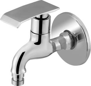 Prestige Qubix Washing Machine Bib Cock Pack Of 1 Finish Chrome platet Tap Made Of Brass Faucet Bib Co...