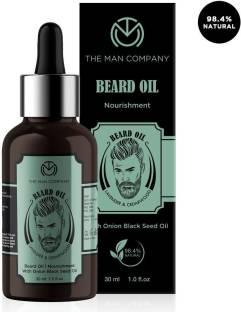 THE MAN COMPANY 100% Natural Softening Beard Oil - Lavender & Cedarwood Hair Oil