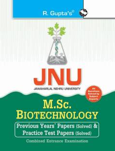 Jnu Combined Entrance Test - M.Sc. Biotechnology Previous Years' Papers & Practice Test Papers (Solved) 2022 Edition
