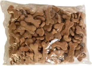 Petfun Flavored Dog Biscuit Vegetable 1 kg Dry Adult, Senior Dog Food