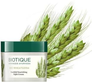 BIOTIQUE Bio Wheatgerm Nourishing Night Cream, 50g