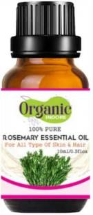 OrganicIndore Rosemary essential oil   Pure and Natural   10 ml