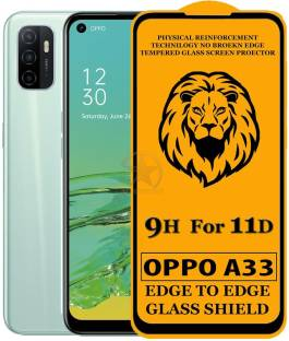 SEVEN7STAR Edge To Edge Tempered Glass for Oppo A33