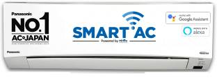 Panasonic 1.5 Ton 3 Star Split Inverter Smart AC with PM 2.5 Filter with Wi-fi Connect  - White