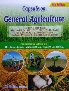 Capsule on General Agriculture (For ICAR-JRF Exam) 5th Edition