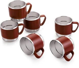 iVBOX Treat-06 Cool-Touch Unbreakable Stainless Steel Cup for Coffee and Tea Stainless Steel Coffee Mug