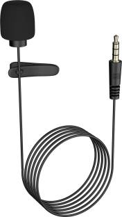 Ubon 3.5mm Aux Clip Microphone CM-50 for Youtube Collar Mic Microphone