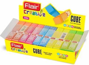 Flair Creative Cube Non-Toxic Eraser
