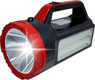 ELECTRO SHOPEE 80Watt Laser Led Torch Light 1000 Meter Long Range With Ultra Bright Dual Led Tube Side...