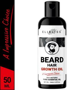 ELIBLISS Beard Hair Growth Oil for Faster Thicker And Longer Hair, All Natural Ingredients (50 ml) Hair Oil