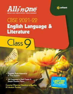 Cbse All in One English Language & Literature Class 9 for 2022 Exam