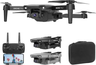 Lord of the sky Foldable 4K High Resolution DUAL Camera Front and Bottom With Wifi & Remote Control Dr...