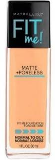 MAYBELLINE NEW YORK Fit Me! Matte With Poreless Foundation, 230 Natural Buff Foundation