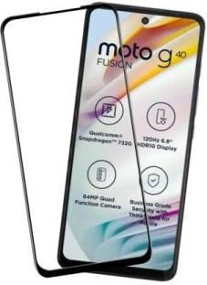 Hyper Edge To Edge Tempered Glass for MOTOROLA G40 Fusion