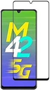 EASYBIZZ Tempered Glass Guard for Samsung Galaxy M42 5G