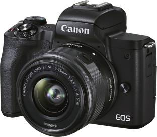 Canon EOS M50 Mark II Mirrorless Camera EF-M15-45mm is STM Lens