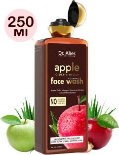 Dr. Alies Professional Apple Cider Vinegar , Purifies & Balances Skin Oils - Prevents Acne For Men & Women (SLS & Paraben Free) Face Wash