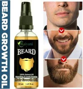 Raiyani Beard Oil With Natural Ingredients Hair Oil (50 ml) Hair Oil