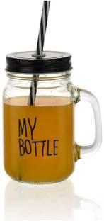 Satyam Kraft My Bottle Jar Glass Mason Jar