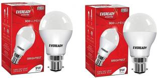 EVEREADY 9 W Standard B22 LED Bulb