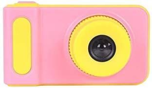 BabyTiger Kids Series Mini Digital Camera for Kids with Expandable Memory - Pink/Yellow Kids Camera Po...