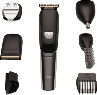 Misfit by boAt T200 Runtime: 120 mins 6-in-1 Trimmer for Men