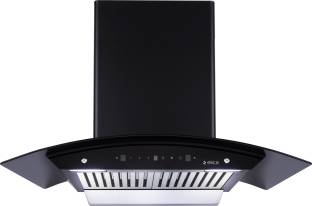 Elica WD BF 906 HAC MS NERO Auto Clean Wall Mounted Chimney