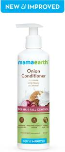 """MamaEarth """"Onion Conditioner for Hair Growth & Hair Fall Control with Coconut Oil 250ml"""""""
