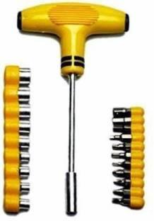 VKR universe T shape screwdriver set Batch Head Ratchet Pawl Socket Spanner hand tools Ratchet Screwdr...