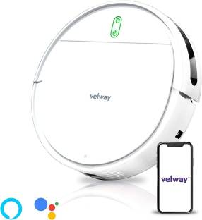 velway V8s Smart Robotic Vacuum Cleaner Wet and Dry with High Suction 3200 MAH Long Lasting Battery Wi...