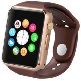 CRORA A1 Smart Mobile Watch (GOLD)-51036 Smartwatch