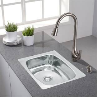 "Prestige 'oval bowl' (24""x18""x10"") 'oval bowl' stainless steel Sink (CHROME) Vessel Sink"