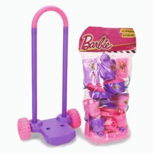 BARBIE Barbie My Pinktastic Trolley Kitchen Set - 21 Pieces