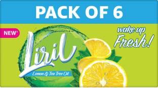 Liril Lemon and Tea Tree Oil Soap
