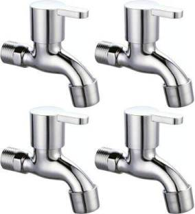 Strength SMS-021 High Grade Marc Bib Cock Bathroom Tap With Foam Flow Brass Chrome Plated ( Set of 4 P...