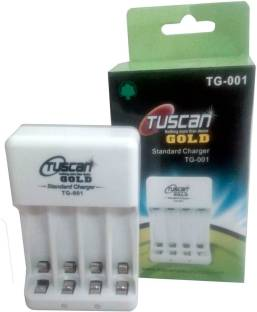 TUSCan Gold Battery Charger for AA and AAA Rechargeable Batteries TG-001  Camera Battery Charger