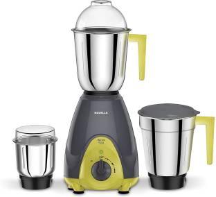 HAVELLS GHFMGAGE050 Sprint 500 W Mixer Grinder (3 Jars, Grey, Yellow)