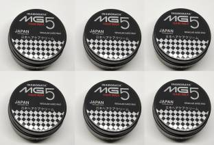 MG5 MEN Japan Hair Wax For Hair Styling (100 Gram) - Pack of 6 Hair Wax